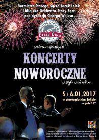 Plakat Koncert Noworoczny