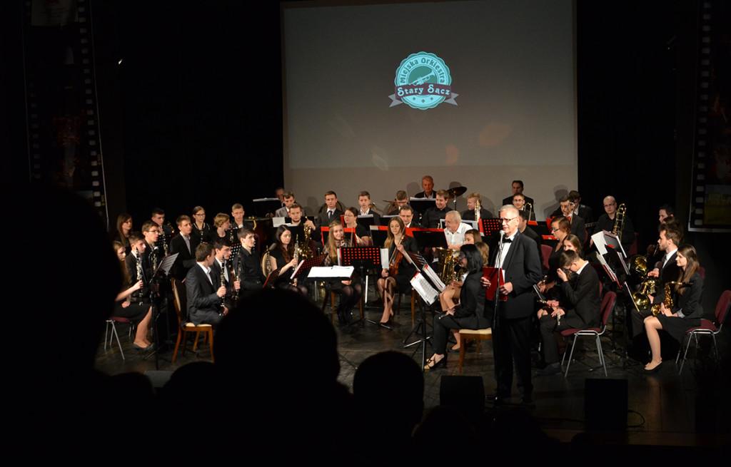Miejska Orkiestra Stary Sącz (Fot. TOMIKAART)