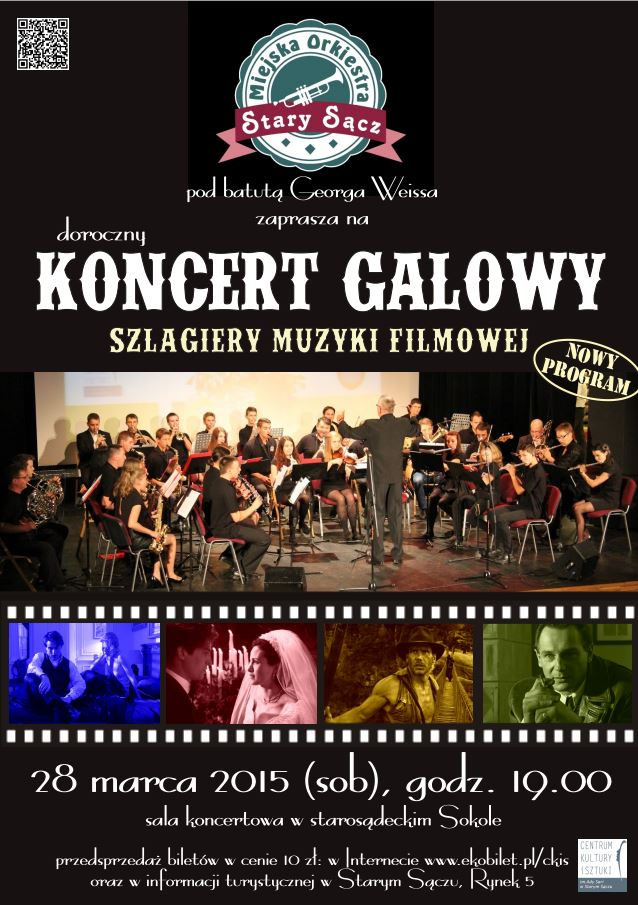 Plakat Moss Koncert Galowy Centrum Kultury I Sztuki Im
