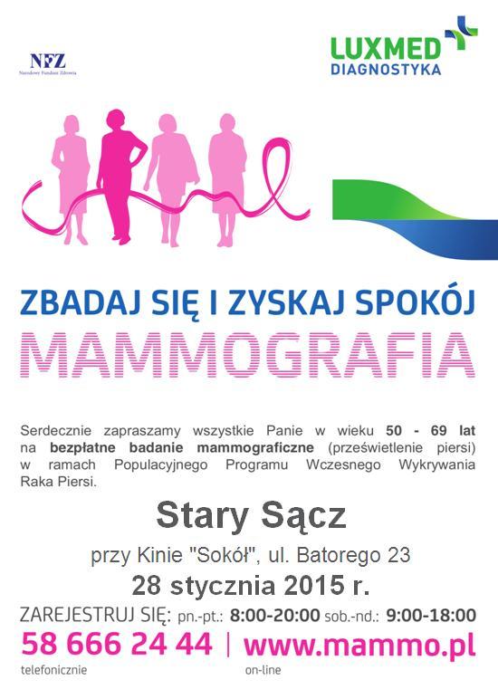 Plakat Stary Sącz