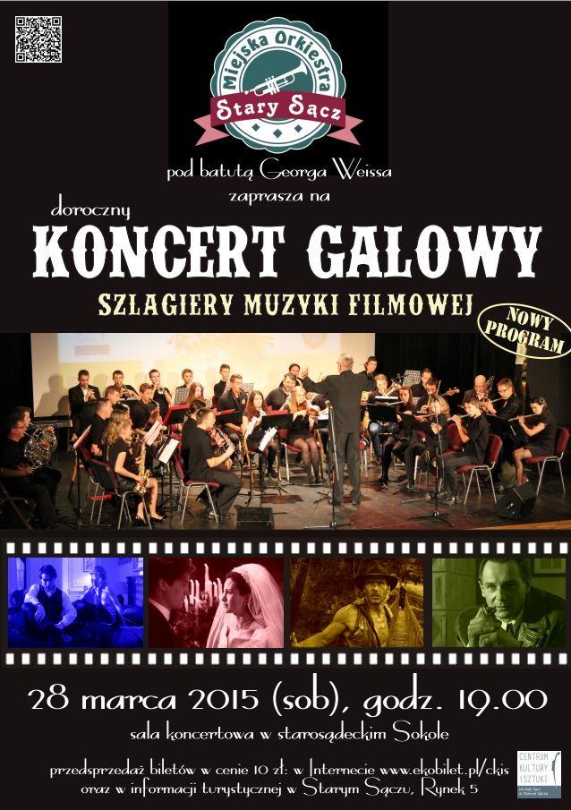 Plakat MOSS Koncert Galowy