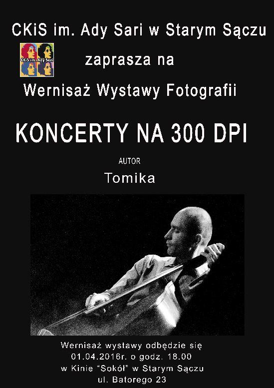 Plakat Tomika Ostateczny